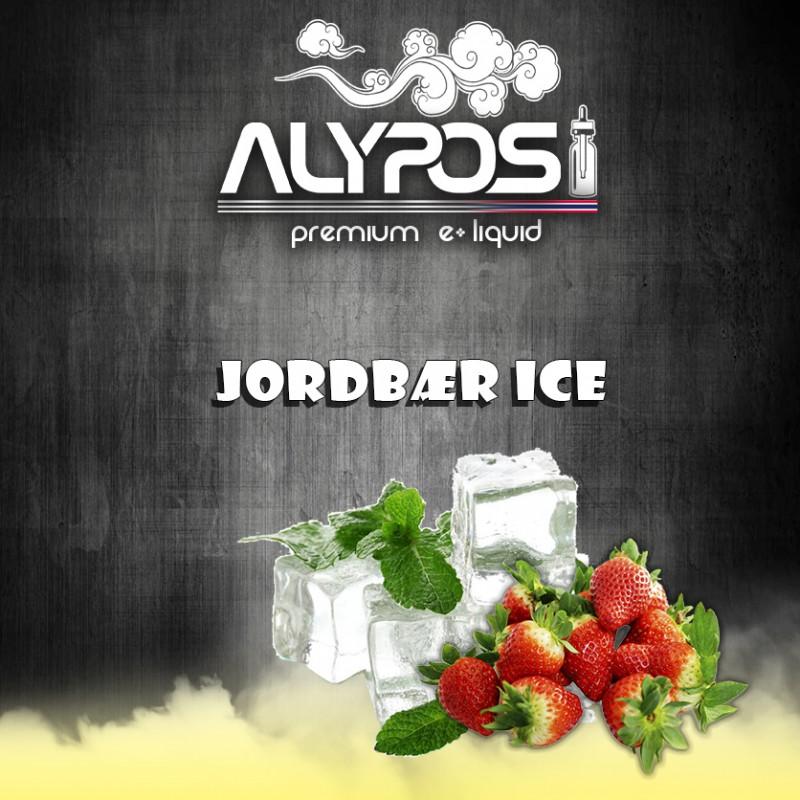 Jordbær ice